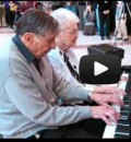 Marlow and Frances Cowan - Spontaneous Piano Performance at Age 90+