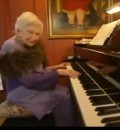 Gertrude Matthews - Pianist at Age 101