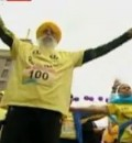 100-Year-Old Man Finishes a 26-Mile Marathon