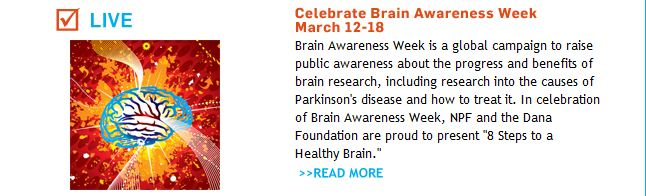 Celebrate Brain Awareness Week March 12-18
