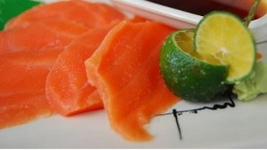 Salmon, rich in Omega-3 Good for Brain Health (image courtesy of Wikip