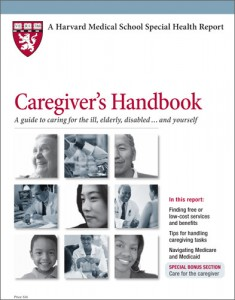 Caregivers Handbook from Harvard Health Publications