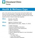 Cleveland Clinic Florida  Health & Wellness Expo  April 28