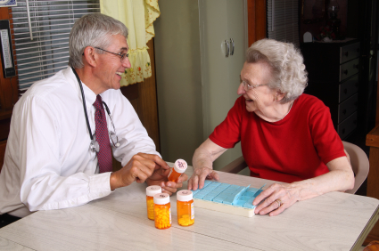 Doctor Making a House Call - New Administration on Community Living to Help Seniors & Disabled Live At Home