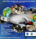 May 27 through June 2 declared National Hurricane Preparedness Week