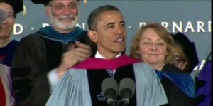 President Obama Delivers the Commencement Address at Barnard  College - May 14, 2012