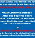 July 17 Conference: After the Supreme Court - Implementing Affordable Care Act