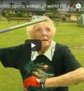 Ruth Frith – Oldest Sportswoman of the World (98 years)