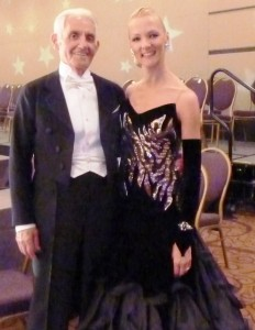 Alex Nastaskin with Liene Di Lorenzo, his professional dance instructor
