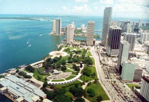 Bayfront Park, Miami - site of 2012 Parkinson Moving Day® - Miami