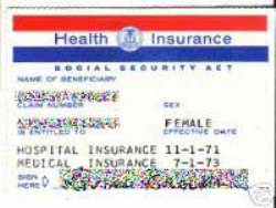 Sample Medicare Card (Image courtesy of Wikipedia Commons) - Obamacare will save Seniors on Medicare $5,000 - $18,000 through 2022, new HHS report states