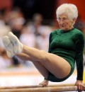 Guinness World Record Holder for Oldest Gymnast at 86 Years Old