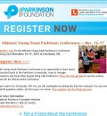 Parkinson Foundation Offers Free Webcast on Young Onset Parkinson's – Nov. 17