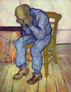Social Withdrawal & Other Changed Behaviors May be a Warning Sign Your Senior Loved One Needs Help (Image of Van Gogh's At Eternity's Gate courtesy of Wikipedia Commons)