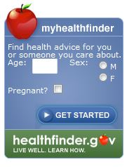 MyHealthFinder App from HHS