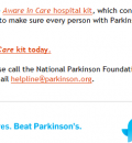 Kit to Help Parkinsons Patients Combat Hospital Dangers Issued by National Parkinson Foundation