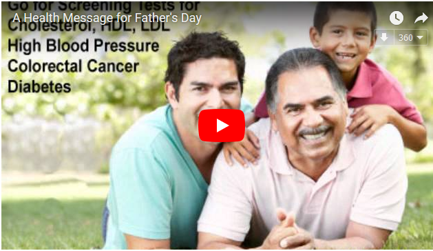 A Father's Day Health Message