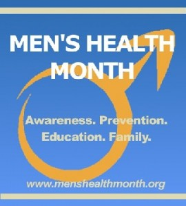 June is National Men's Health Month