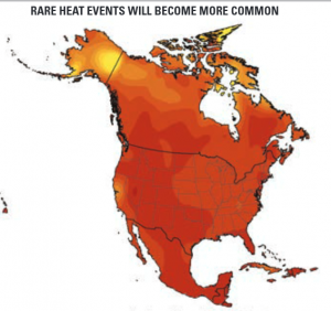 Rare Heat Events Will Become More Common