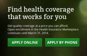 HealthCare.gov - Insurance Marketplace for Patient Protection & Affordable Care Act